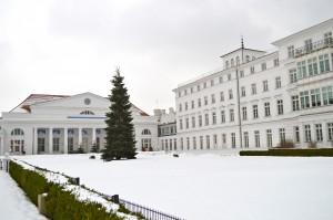 Wiederaufbau in Heiligendamm durch die ECH