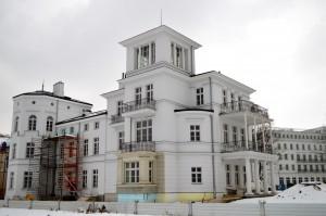Die ECH von Anno August Jagdfeld baut in Heiligendamm die Villa Perle wieder auf.
