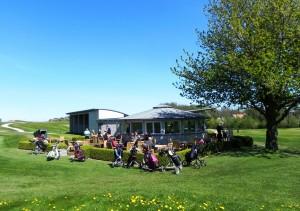 Golfcafé im Ostsee Golf Resort Wittenbeck